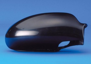 Ford Focus [98-04] Mirror Cap Cover - Black smooth